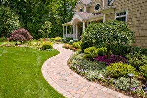 принцип простоты в планировании сада