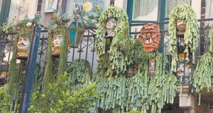 цветочное кашпо в форме головы Сицилия