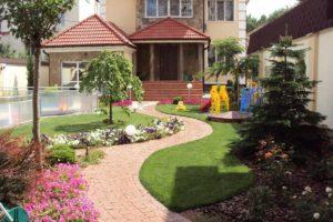 принцип размер и форма в планировании сада